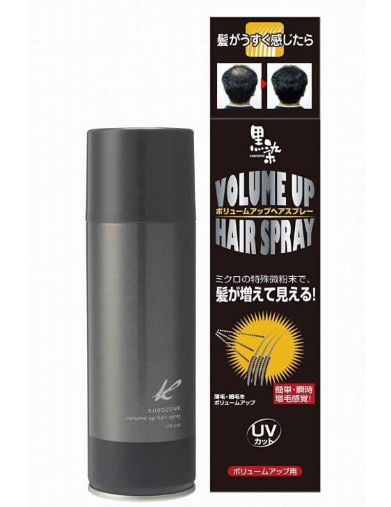 Hair thickening spray