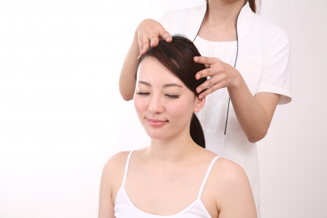 Hair growth salon