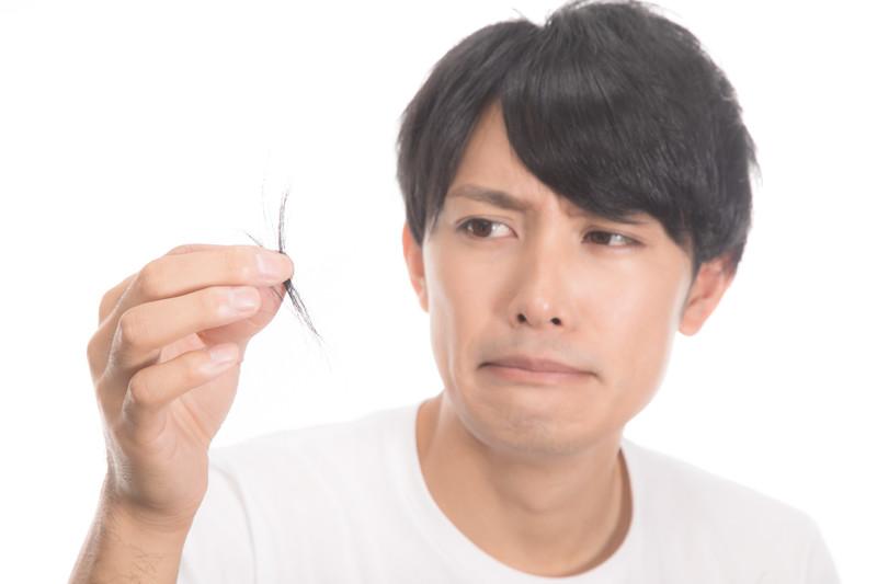 Hair loss increases