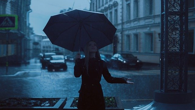 rain wind